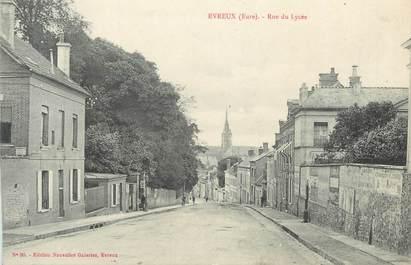 """CPA FRANCE 27 """" Evreux, rue du lycée """""""