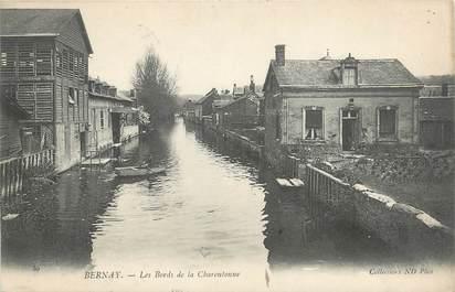 """CPA FRANCE 27 """" Bernay, les bords de la Charentonne """""""