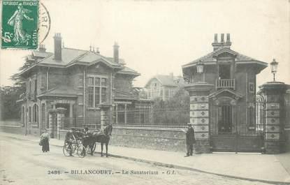 """CPA FRANCE 92 """" Boulogne Billancourt, le Sanatorium """""""