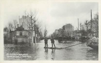 """CPA FRANCE 92 """" Boulogne sur Seine, inondations 1910 """""""