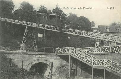"CPA FRANCE 92 "" Meudon, le funiculaire """