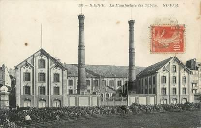 """CPA FRANCE 76 """" Dieppe, la manufacture des Tabacs """""""