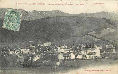 """CPA FRANCE 09 """" Saint Paul de Jarrat """""""