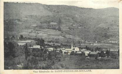 """CPA FRANCE 09 """" Saint Pierre de Soulans """""""