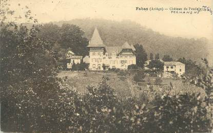 """CPA FRANCE 09 """" Fabas """""""