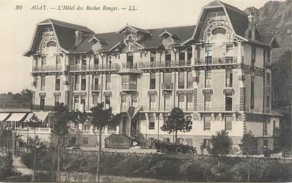 """/ CPA FRANCE 83 """"Agay, l'hôtel des Roches rouges"""""""