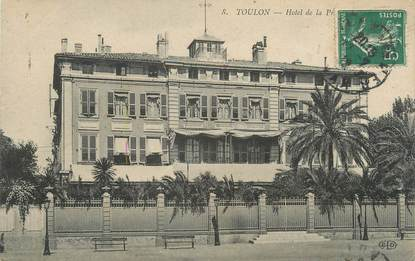 "/ CPA FRANCE 83 ""Toulon, hôtel"""