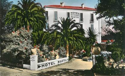 "/ CPSM FRANCE 83 ""Cavalaire sur Mer, hôtel Martel"""