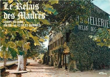 """/ CPSM FRANCE 83 """"Bormes, hôtellerie Le relais des Maures"""""""