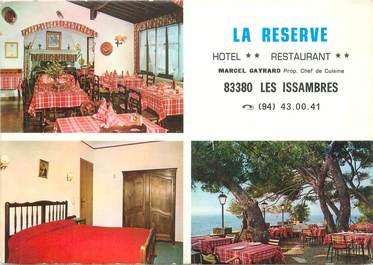 "/ CPSM FRANCE 83 ""Les Issambres, hôtel restaurant La reserve"""