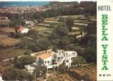 "83 Var / CPSM FRANCE 83 ""Saint Tropez, hôtel Bella Vista"""