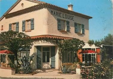 """/ CPSM FRANCE 83 """"Guerrevieille Beauvallon, hôtel restaurant Marie Louise"""""""