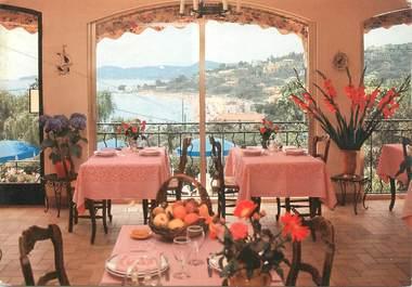"""/ CPSM FRANCE 83 """"Le Lavandou, hôtel restaurant Belle Vue"""""""