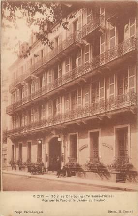 """/ CPA FRANCE 03 """"Vichy, hôtel de Cherbourg"""""""