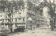 """03 Allier / CPA FRANCE 03 """"Vichy, hôtel des ambassadeurs"""" / AUTOMOBILE"""