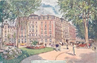 """/ CPA FRANCE 03 """"Vichy, hôtel villa des Ambassadeurs"""""""