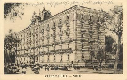 "/ CPA FRANCE 03 ""Vichy, Queens hôtel"""