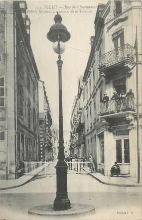 """/ CPA FRANCE 03 """"Vichy, hôtels Riviera, Lucerne et de la Terrasse"""""""