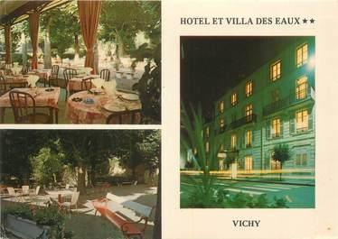 """/ CPSM FRANCE 03 """"Vichy, hôtel et villa des Eaux"""""""