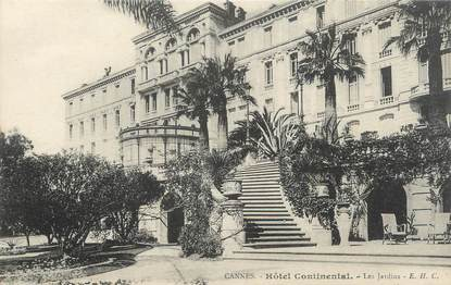 "/ CPA FRANCE 06 ""Cannes, hôtel Continental"""