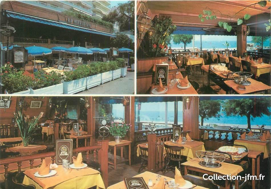 cpsm 06 quot cannes restaurant le m 233 ridien quot 06 alpes maritimes cannes 06 ref