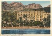 """06 Alpe Maritime / CPSM FRANCE 06 """"Menton, hôtel Royal Westminster """""""