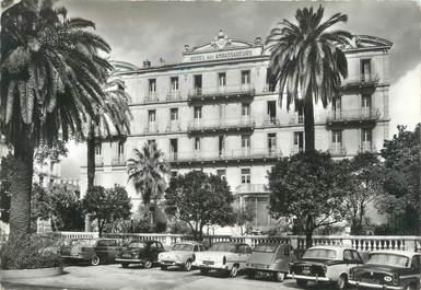 """/ CPSM FRANCE 06 """"Menton, hôtel des Ambassadeurs"""" / AUTOMOBILE"""
