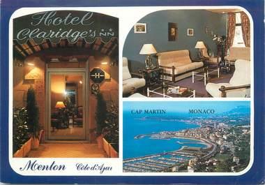 "/ CPSM FRANCE 06 ""Menton, hôtel Claridge's"""