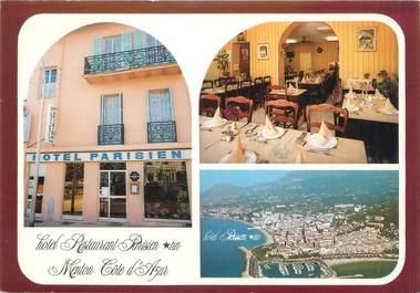 """/ CPSM FRANCE 06 """"Menton, hôtel restaurant Parisien"""""""