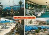 "06 Alpe Maritime / CPSM FRANCE 06 ""Menton, restaurant Papagayo"""