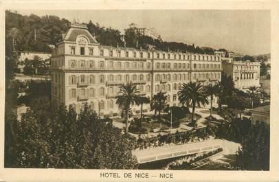 "/ CPA FRANCE 06 ""Nice, hôtel de Nice """