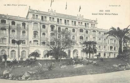 "/ CPA FRANCE 06 ""Nice, grand hôtel Winter Palace"""