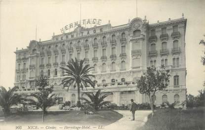"""/ CPA FRANCE 06 """"Nice, Hermitage Hôtel"""""""