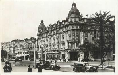 """/ CPSM FRANCE 06 """"Nice, hôtel Ruhl"""" / AUTOMOBILE"""
