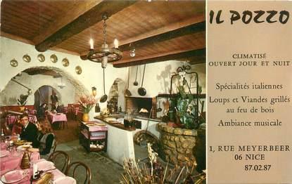 "/ CPSM FRANCE 06 ""Nice, restaurant Il Pozzo"""