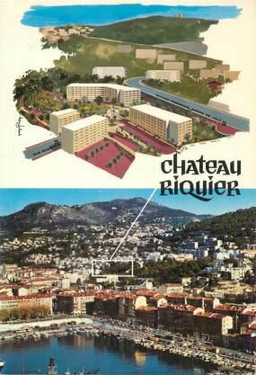 """/ CPSM FRANCE 06 """"Nice, Château Riquier"""""""