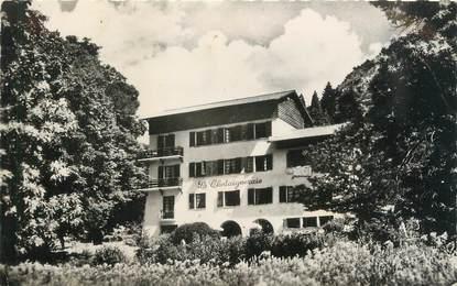"""/ CPSM FRANCE 06 """"Saint Martin Vésubie, hôtel de La Châtaignerie"""""""
