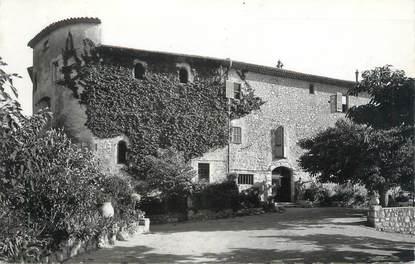 """/ CPSM FRANCE 06 """"La Colle sur Loup, hôtel restaurant l'Abbaye"""""""