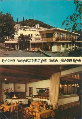 """/ CPSM FRANCE 06 """"Castagniers Les Moulins, Hôtel restaurant Chez Servella"""""""