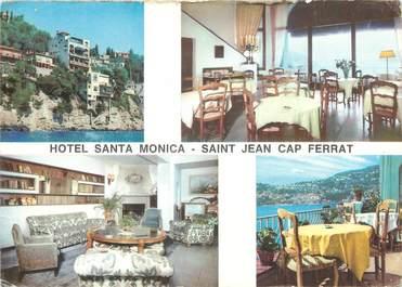 "/ CPSM FRANCE 06 ""Saint Jean Cap Ferrat, hôtel Santa Monica"""