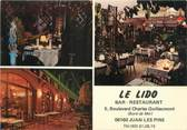 "06 Alpe Maritime / CPSM FRANCE 06 ""Juan Les Pins, Bar restaurant Le Lido"""