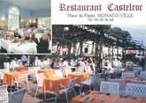 "France / CPSM MONACO ""Restaurant Castelroc"""