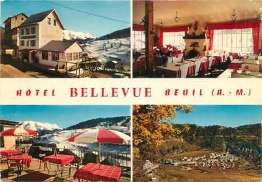 """/ CPSM FRANCE """"Beuil, hôtel bellevue"""""""