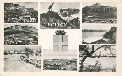 "CPSM FRANCE 74 ""Thollon"""