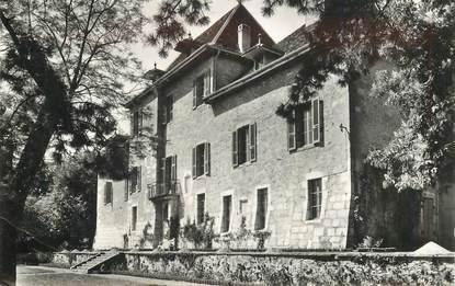 "CPSM FRANCE 74 ""Vallieres, le Chateau de Chitry"""