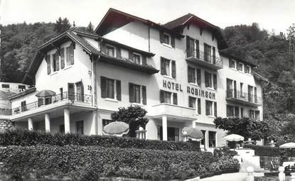 "CPSM FRANCE 74 ""Sevrier, Hotel Robinson"""