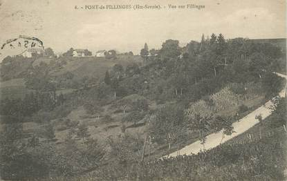 "CPA FRANCE 74 ""Pont de Fillinges"""