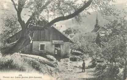 """CPA FRANCE 74 """"Onion sur Saint Jeoire"""""""