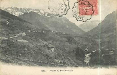 "CPA FRANCE 74 ""Vallée du Petit Bornand"""