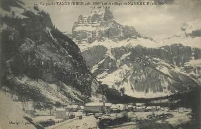 """CPA FRANCE 74 """"Le Pic de Tanneverge"""""""